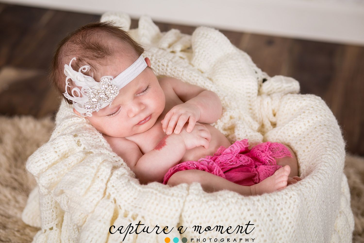 Butterflys & Bows for this Newborn